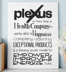 Plexus is a health and wellness company